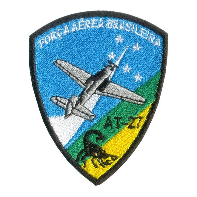 fe25e64391e68 Bordado FAB AT-27 Scorpion - Militar Brasil - artigos militares ...