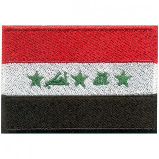 Bordado Bandeira Iraque