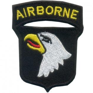 Bordado Airborne Aguia Colorido