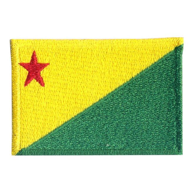 Bordado Bandeira Acre