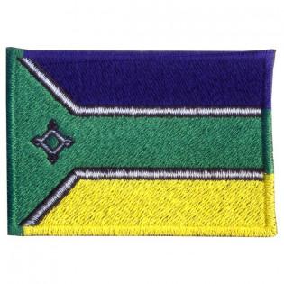 Bordado Bandeira Amapa