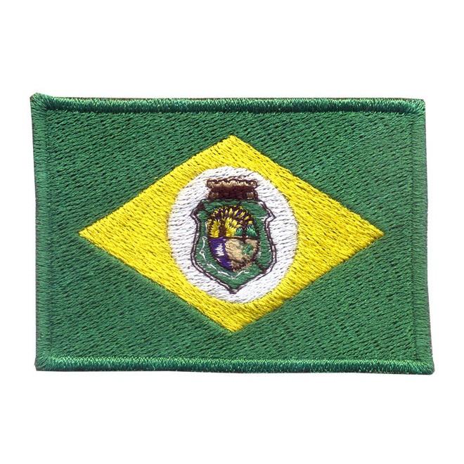 672c63d377 Bordado Bandeira Ceara - Militar Brasil - artigos militares ...