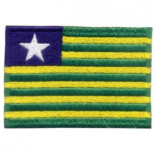 Bordado Bandeira Piau