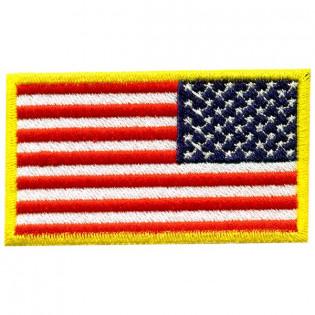 Bordado Bandeira USA Invertida