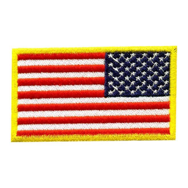 2c2303cc84 Bordado Bandeira USA Invertida - Militar Brasil - artigos militares ...