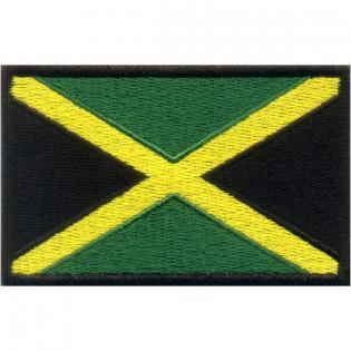 Bordado Bandeira Jamaica