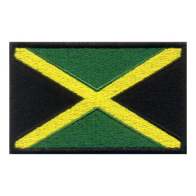aaeda5412c Bordado Bandeira Jamaica - Militar Brasil - artigos militares ...