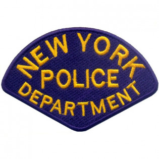 Bordado New York Police Department