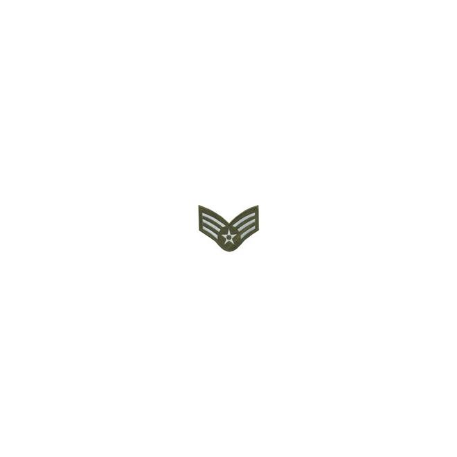 Bordado Divisa 3º SGT Aéronautica Verde