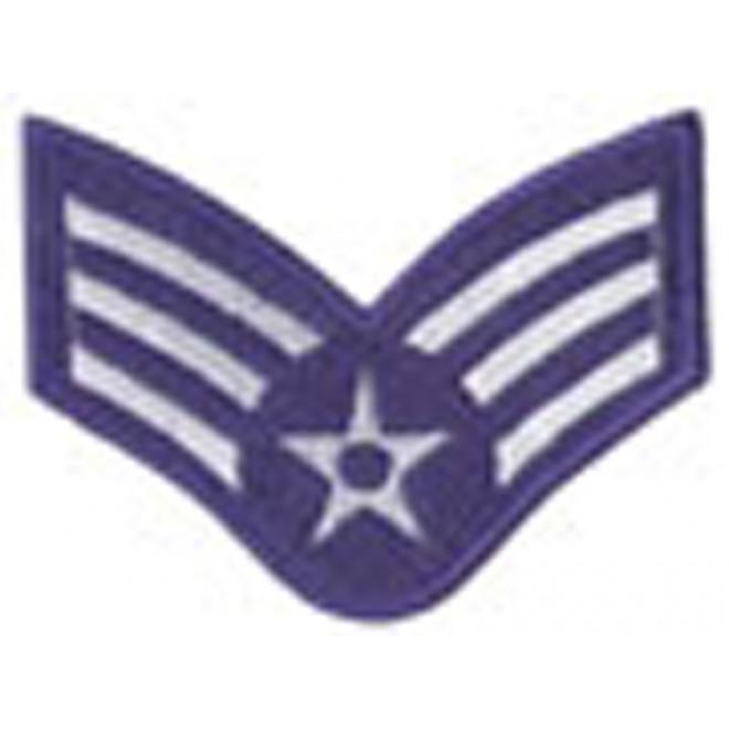 Bordado Divisa 3º SGT Aéronauica Azul