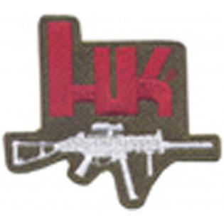 Bordado HK Fuzil Verde