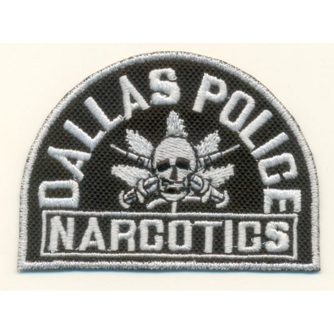 Bordado Dallas Police Narcotics