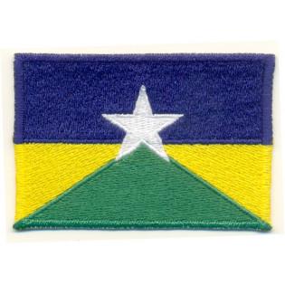 Bordado Bandeira Rondonia