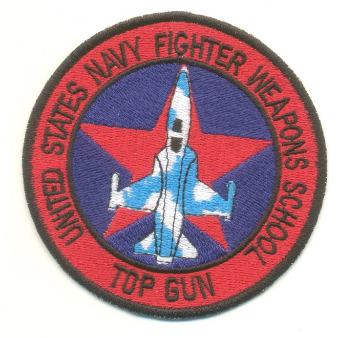 Bordado United States Navy Fighter Wepons School