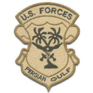 Bordado U.S Forces Persian Gulf