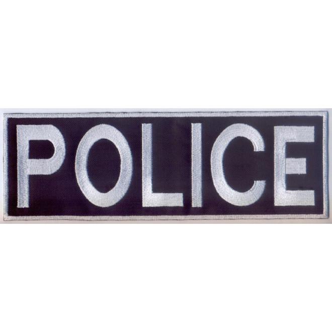 Bordado Police Tarja Grande