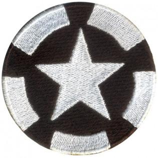 Bordado Estrela US Army Preto