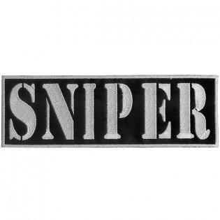 Bordado Sniper Tarja Branco