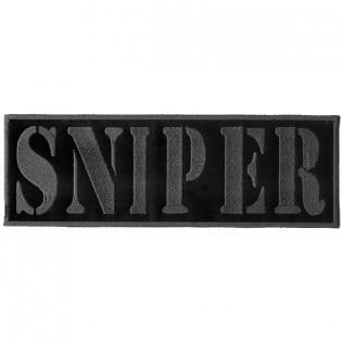 Bordado Sniper Tarja Cinza