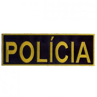 Bordado Policia Tarja Amarelo (Controlado)