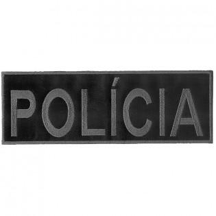 Bordado Policia Tarja Cinza (Controlado)
