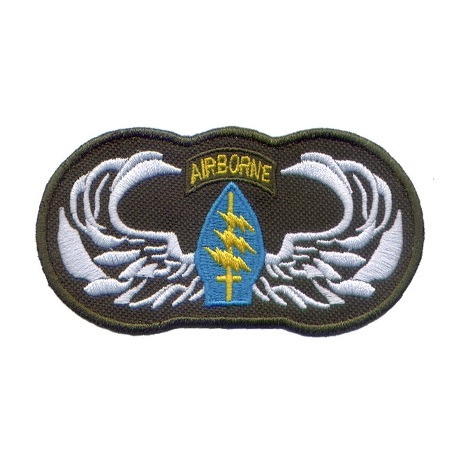 Bordado Airborne com Asa