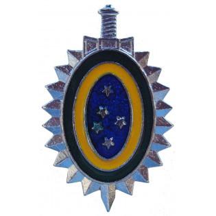 Distintivo de Boina do Exército Metal (Controlado)