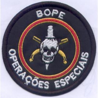 Bordado BOPE Operações Especiais