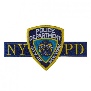 Bordado Police Department City of New York