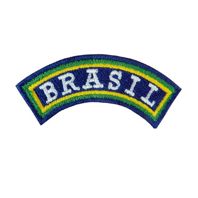 Bordado Tarja Brasil pequeno