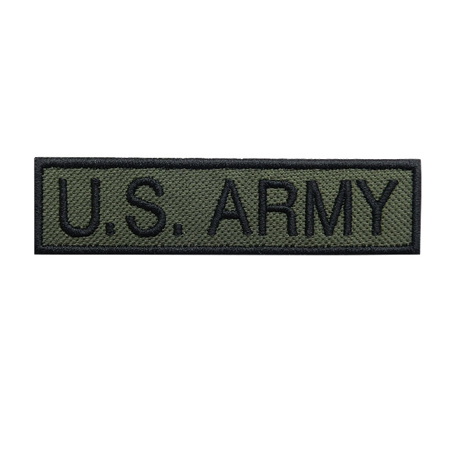 Bordado Tarja U.S Army