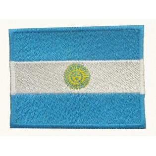 Bordado Bandeira Argentina Grande