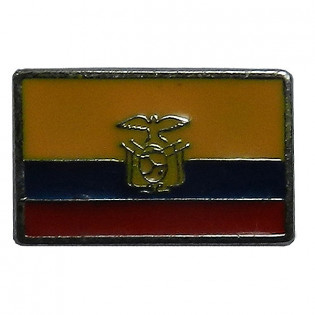 PIN Bandeira Equador