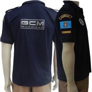 Camisa Operacional GCM Guarujá - Azul Noite