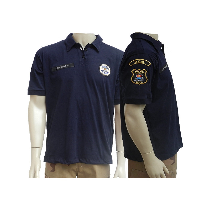 c2e6ea1bb Camisa Polo Padrão GCM Guarujá - Militar Brasil - artigos militares ...