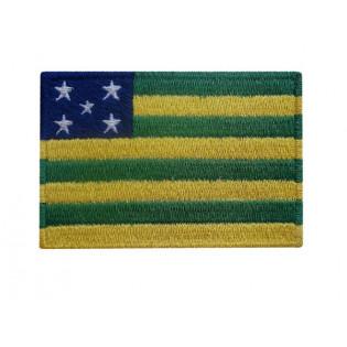 Bordado Bandeira Goias