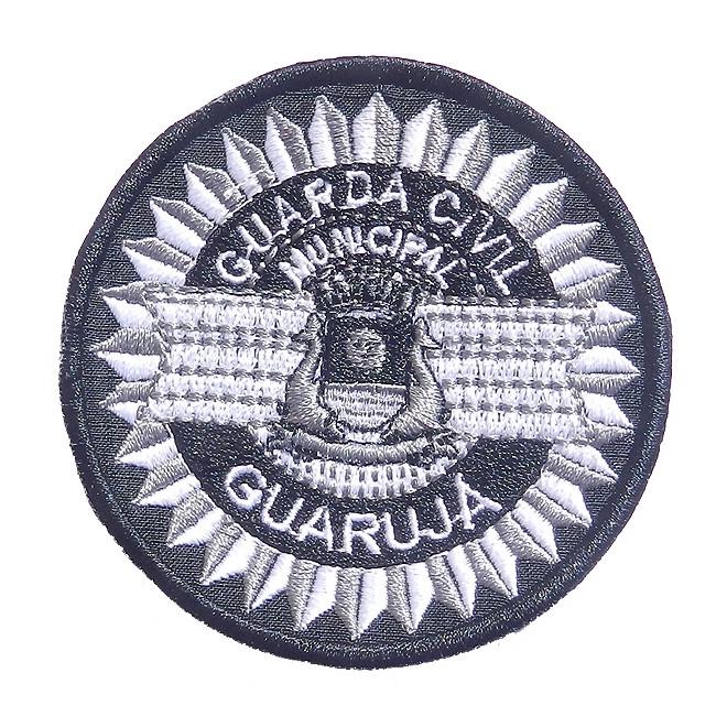Bordado Guarda Civil do Guarujá Cinza
