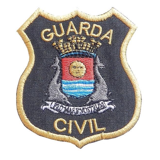 Bordado Guarda Civil Guarujá