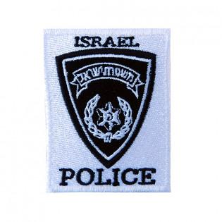 Bordado Israel Police 12cmx8,5cm