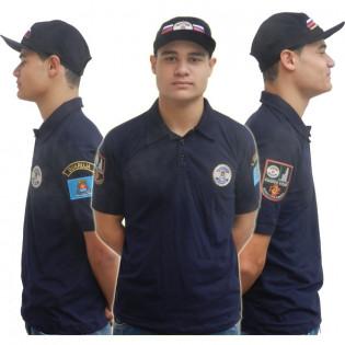 Camisa GCM Canil - Azul Marinho