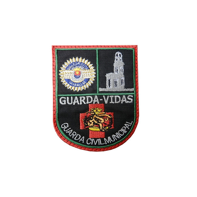 Bordado Guarda Vidas GCM Guarujá
