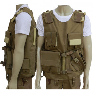 Colete Tático M-2 RB - Caqui/TAN