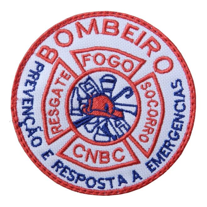 e6c7137f42 Bordado Bombeiro CNBC com Velkro Áspero - Militar Brasil - artigos ...