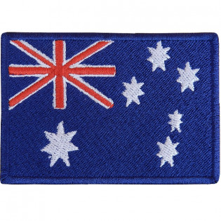 Bordado Bandeira Australia