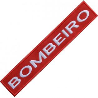 Bordado Tarja Bombeiro de Bolso com Velkro aspero