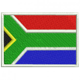Bordado Bandeira Africa do Sul