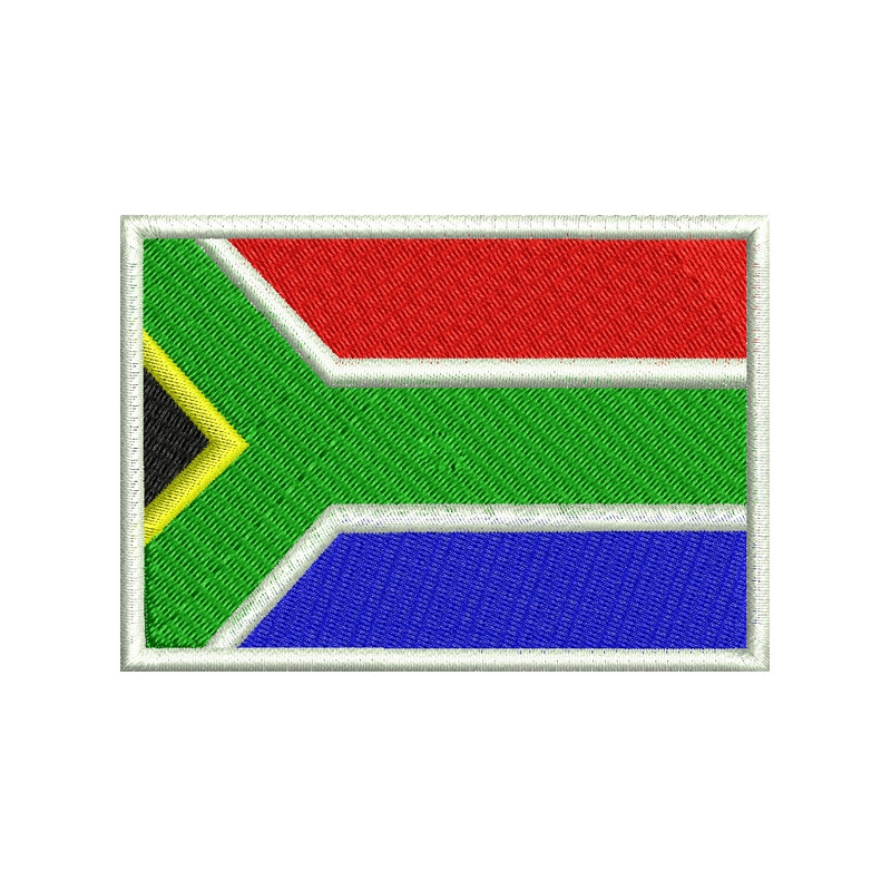e1773a3369 Bordado Bandeira Africa do Sul - Militar Brasil - artigos militares ...