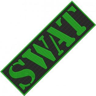 Bordado SWAT Tarja Verde