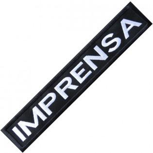 Bordado Tarja Imprensa