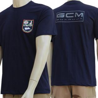 Camiseta GCM Guarujá CETP - Azul Noite